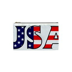 Usa Cosmetic Bag (small) by worldbanners