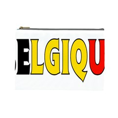 Belgium2 Cosmetic Bag (large)
