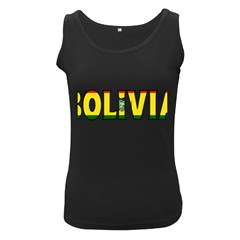 Bolivia Womens  Tank Top (black) by worldbanners
