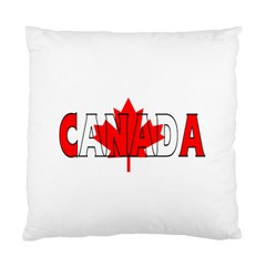 Canada Cushion Case (one Side) by worldbanners