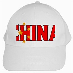 China White Baseball Cap