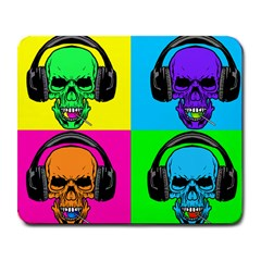 Rockin  Skulls & Lollipops Large Mouse Pad (rectangle) by Contest1703413