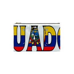 Ecuador Cosmetic Bag (small) by worldbanners