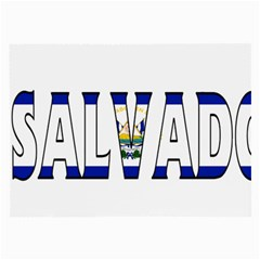 El Salvador Glasses Cloth (large) by worldbanners