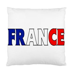France Cushion Case (one Side) by worldbanners