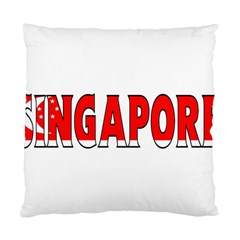 Singapore Cushion Case (one Side) by worldbanners