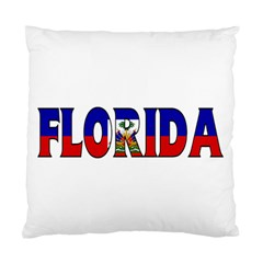 Florida Haiti Cushion Case (one Side) by worldbanners