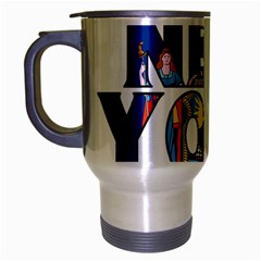 New York Travel Mug (silver Gray)