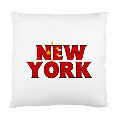 New York China Cushion Case (one Side) by worldbanners