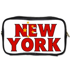 New York China Travel Toiletry Bag (one Side)