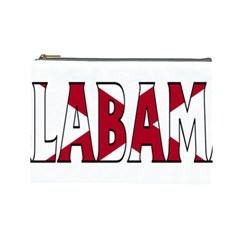 Alabama Cosmetic Bag (large) by worldbanners