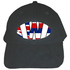 Hawaii Black Baseball Cap