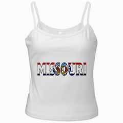 Missouri White Spaghetti Top