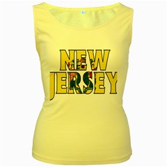 New Jersey Womens  Tank Top (yellow)