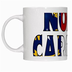 N Carolina White Coffee Mug