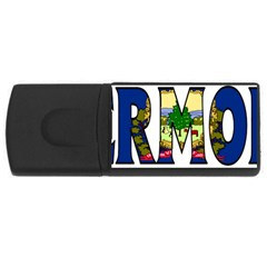 Vermont 4gb Usb Flash Drive (rectangle)