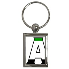 Uae Key Chain (rectangle)