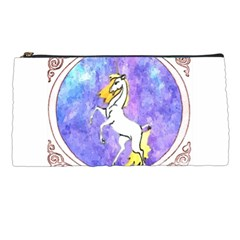Framed Unicorn Pencil Case by mysticalimages