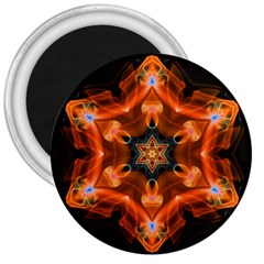 Smoke Art 1 3  Button Magnet by smokeart