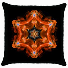 Smoke Art 1 Black Throw Pillow Case by smokeart