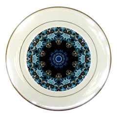 Smoke Art 2 Porcelain Display Plate
