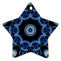 Abstract Smoke  (3) Star Ornament by smokeart