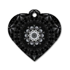 (8) Dog Tag Heart (two Sided) by smokeart