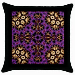 Smoke Art  (11) Black Throw Pillow Case by smokeart