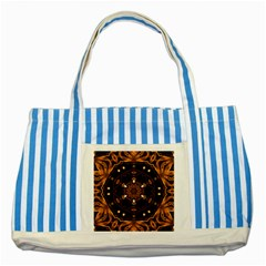 Smoke Art (13) Blue Striped Tote Bag by smokeart