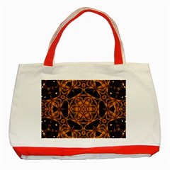Smoke Art (14) Classic Tote Bag (red) by smokeart