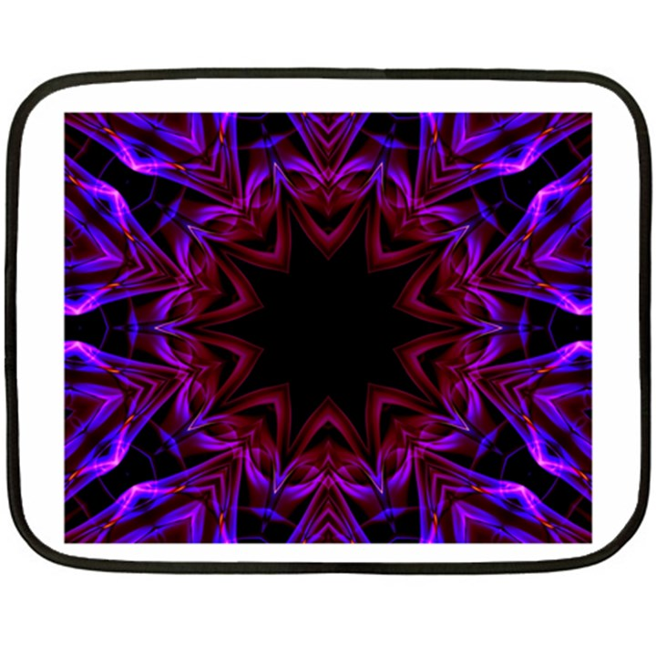 Smoke art  (15) Mini Fleece Blanket (Two-sided)
