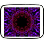 Smoke art  (15) Mini Fleece Blanket (Two-sided) 35 x27 Blanket Back