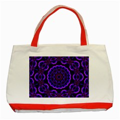 (16) Classic Tote Bag (red) by smokeart
