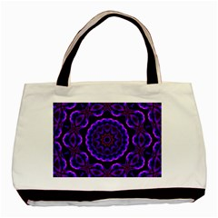 (16) Twin Sided Black Tote Bag by smokeart