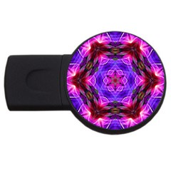 Smoke Art (19) 4gb Usb Flash Drive (round)