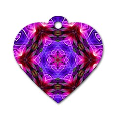 Smoke Art (19) Dog Tag Heart (two Sided) by smokeart