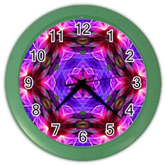 Smoke Art (19) Wall Clock (color) by smokeart