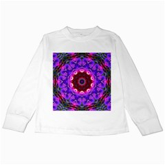 Smoke Art (20) Kids Long Sleeve T Shirt