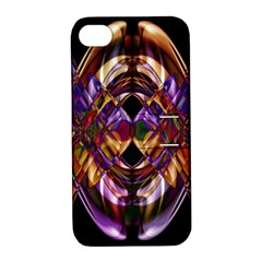 Mobile (4) Apple Iphone 4/4s Hardshell Case With Stand by smokeart