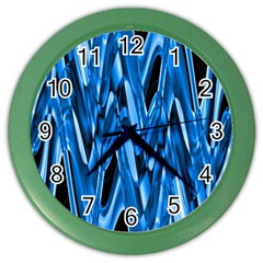 Mobile (8) Wall Clock (color) by smokeart