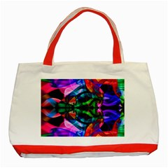 Mobile (10) Classic Tote Bag (red) by smokeart