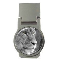 Lion 1 Money Clip (round) by smokeart