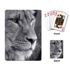 Lion 1 Playing Cards Single Design by smokeart