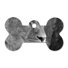 Lion 1 Dog Tag Bone (one Sided) by smokeart