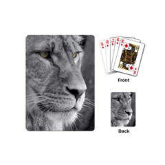 Lion 1 Playing Cards (mini) by smokeart