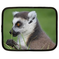 Ring Tailed Lemur  2 Netbook Case (large)