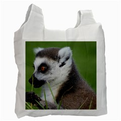 Ring Tailed Lemur  2 Recycle Bag (one Side)