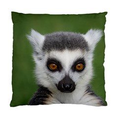 Ring Tailed Lemur Cushion Case (one Side) by smokeart