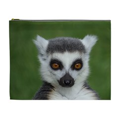 Ring Tailed Lemur Cosmetic Bag (xl)