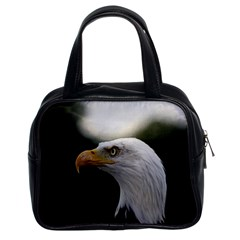 Bald Eagle (1) Classic Handbag (two Sides) by smokeart